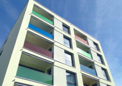 Fassaden Farbkonzept